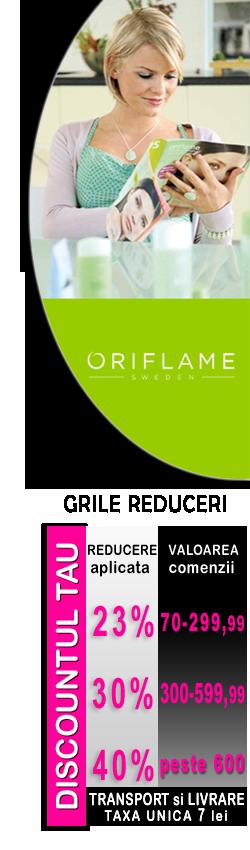 Fii Reprezentant Oriflame sau Cumpara direct de la Oriflame - REDUCERI de 40% | Inscrierea este GRATUITA - Cadouri extraordinare la inscriere | Cel mai complet website creat special pentru cei ambitiosi si perseverenti - Intra in lumea Oriflame!