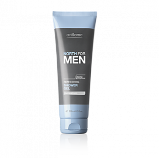 Gel revigorant pentru dus NORTH for MEN 250 ml