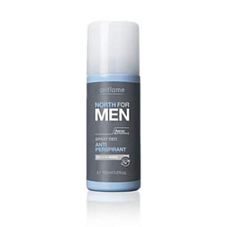 Spray deodorant anti-perspirant NORTH for MEN 150 ml