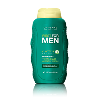 Sampon si gel de dus 2in1 West for Men 250 ml