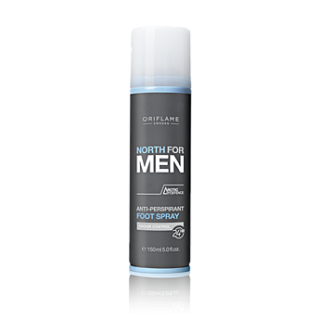 Spray anti-perspirant pentru picioare NORTH for MEN 150 ml