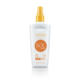 Lotiune spray SOL Family FPS 15-mediu 150 ml