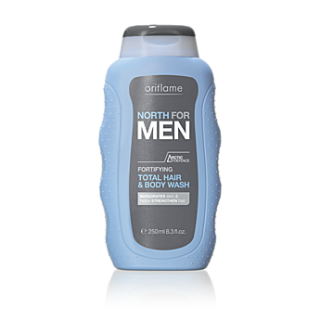 Sampon si gel de dus fortifiantr North for Men 250 ml