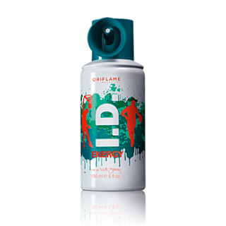 Apa de toaleta spray I.D. Energy 150 ml