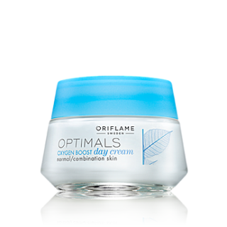 Crema de zi pentru ten normal/mixt Optimals Oxygen BOOST 50 ml