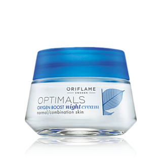 Crema de noapte pentru ten normal/mixt Optimals Oxygen BOOST 50 ml